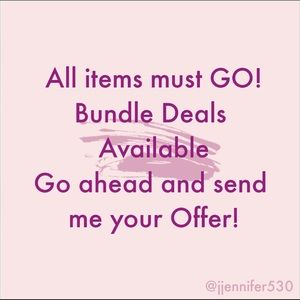 Other - All items must go, bundle deals available! Offers!